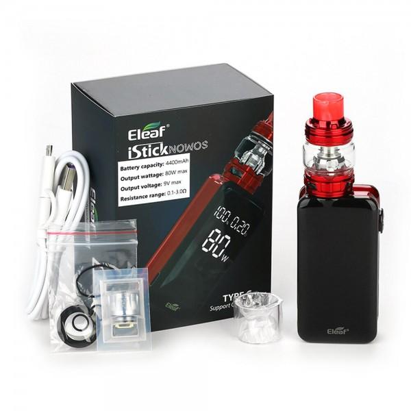 Starter kits - Eleaf iStick Nowos 80W TC Kit with Ello Duro