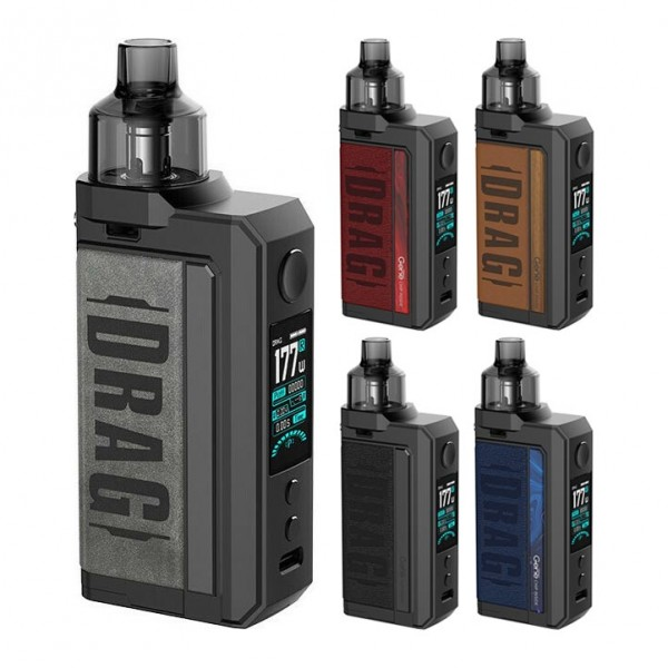 Pod Systems - Voopoo Drag Max Kit 177W 4.5ml