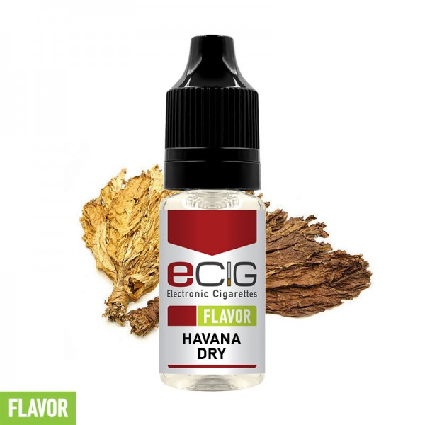 eCig Flavors - Havana Dry Concentrate 10ml