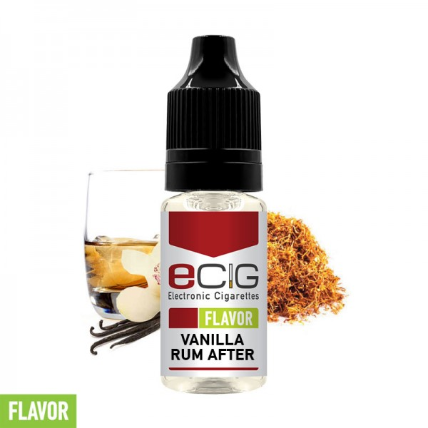 eCig Flavors - Vanilla Rum After Concentrate 10ml