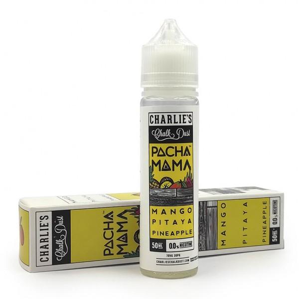 Charlies Chalk Dust - Pachamama Mango Pitaya Pineapple 50ml/60ml Shortfill