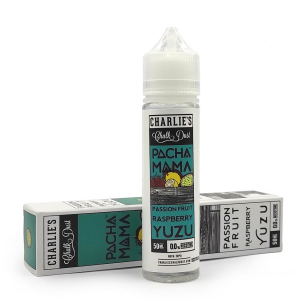 Charlies Chalk Dust - Pachamama Passion Fruit Raspberry Yuzu 50ml/60ml Shortfill