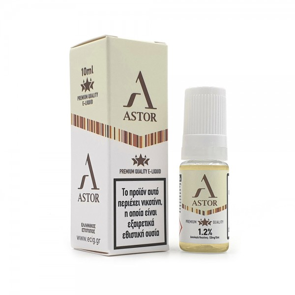 eCig White Label - Καπνός Astor