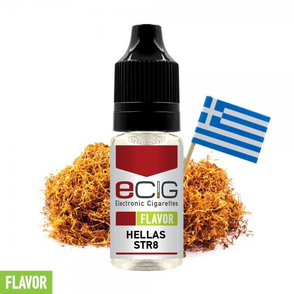 eCig Flavors - Hellas Str8 Concentrate 10ml