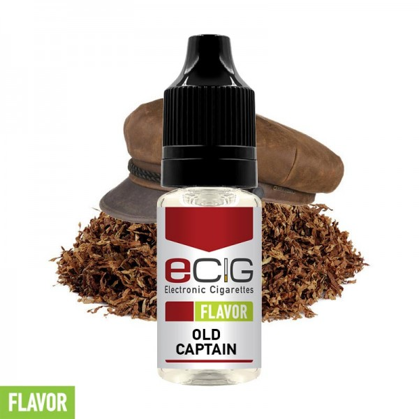 eCig Flavors - Tobacco Old Captain Concentrate 10ml