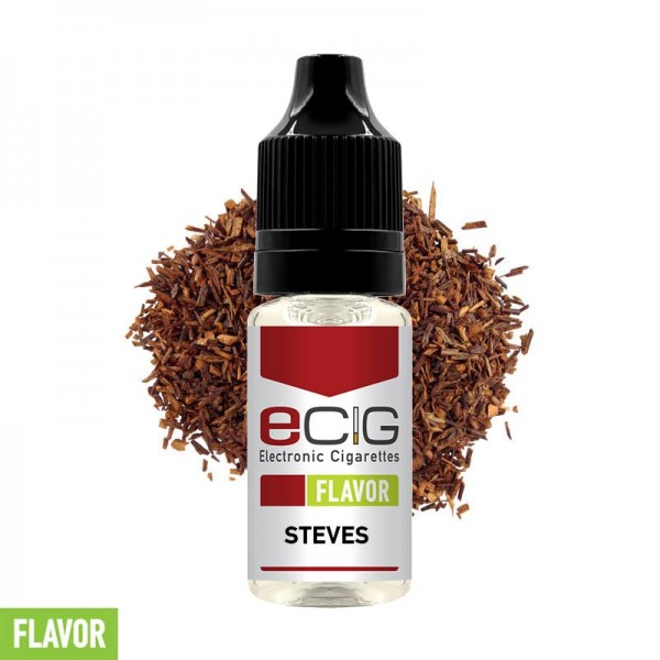 eCig Flavors - Tobacco Stevens Concentrate 10ml