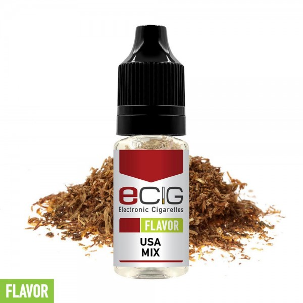 eCig Flavors - Tobacco USA Mix Concentrate 10ml