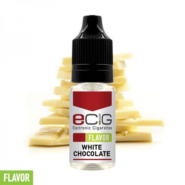 eCig Flavors - White Chocolate Concentrate 10ml