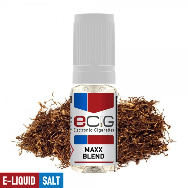 eCig Nicotine Salts - Tobacco - Maxx-Blend / Nicsalts 20mg / 10ml