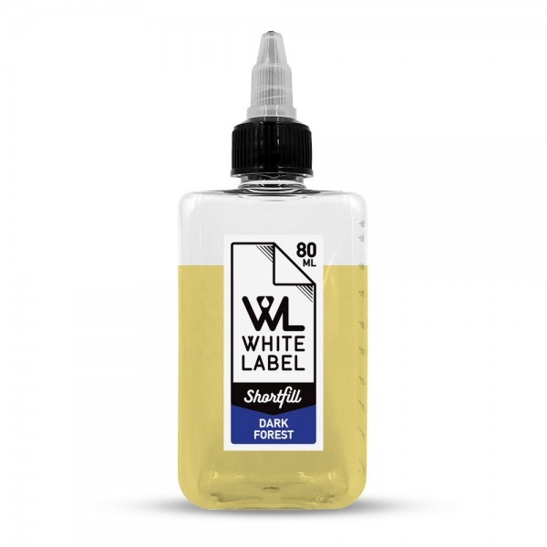 White Label Shortfill - Dark Forest - White Label Shortfill 80/100 ml