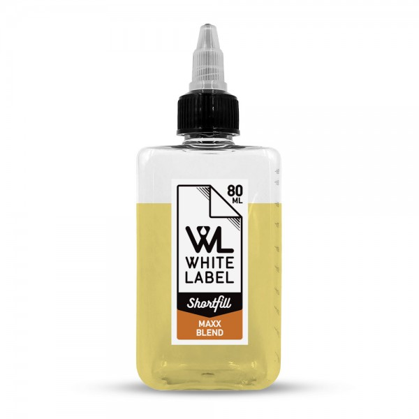 White Label Shortfill - Maxx-Blend - White Label Shortfill 80/100 ml