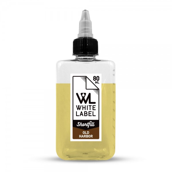 White Label Shortfill - Old Harbor - White Label Shortfill 80/100 ml