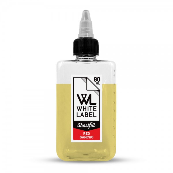 White Label Shortfill - Red Sancho - White Label Shortfill 80/100 ml