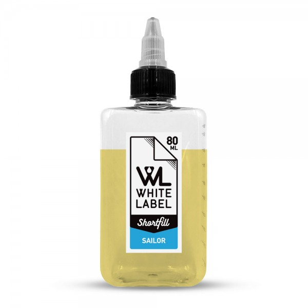 - Sailor - White Label Shortfill 80/100 ml
