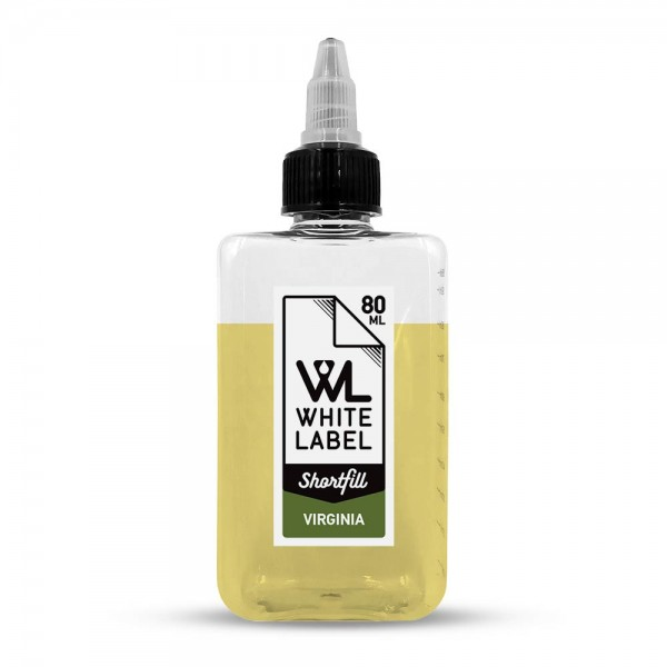 White Label Shortfill - Virginia - White Label Shortfill 80/100 ml