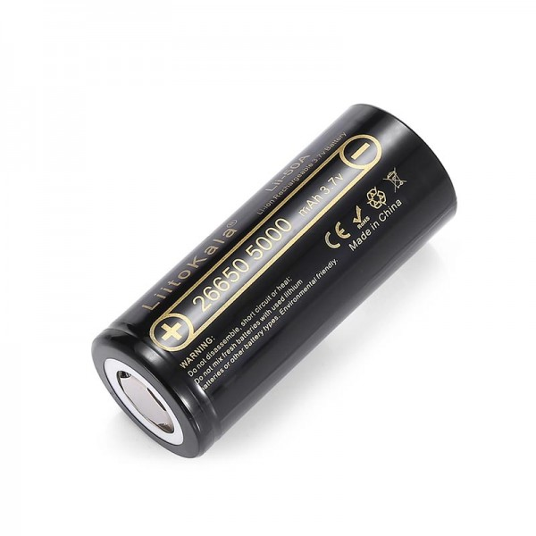 Batteries For Mods - LiitoKala Lii-50A 26650 Battery