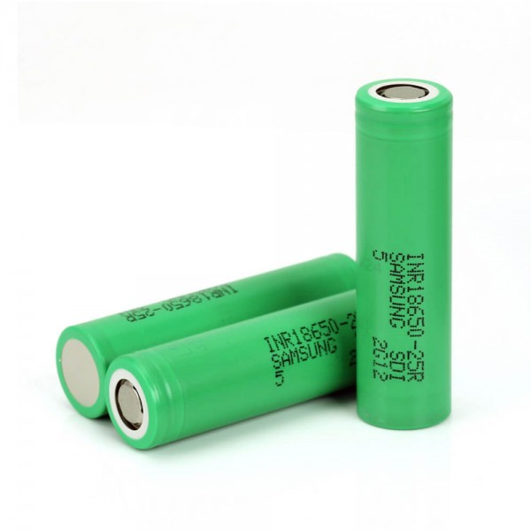 Samsung Battery 2500mah INR18650 25R