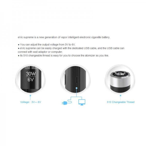 Mod Parts - Joyetech eVic Supreme Control Head