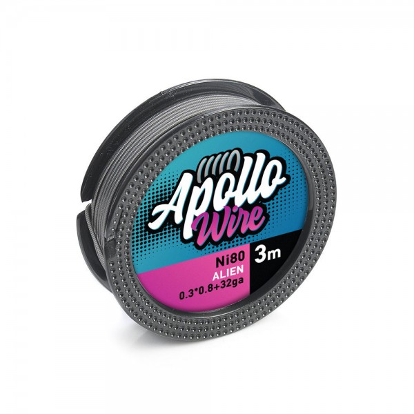 Apollo Ni80 Alien Wire 0.3x0.8+32ga / 3m