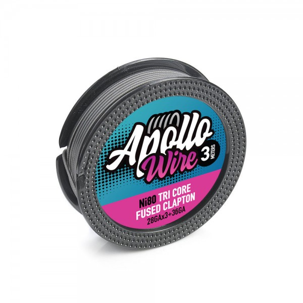 Apollo Ni80 3 Core Fused Clapton 3X28+36...