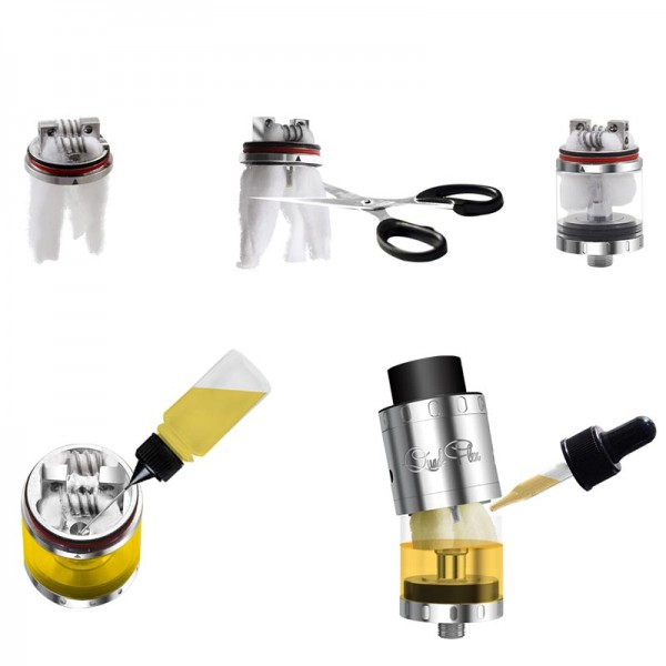 RDA - Aspire Quad Flex Survival Kit