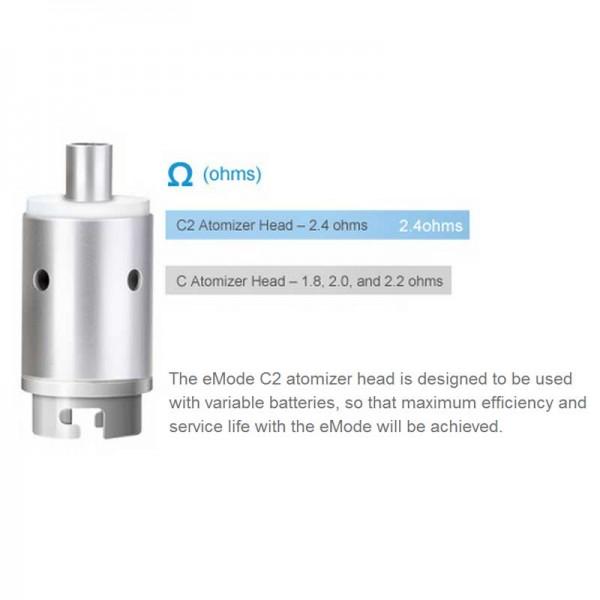Coil Heads - Joyetech eMode Atomizer Head C2