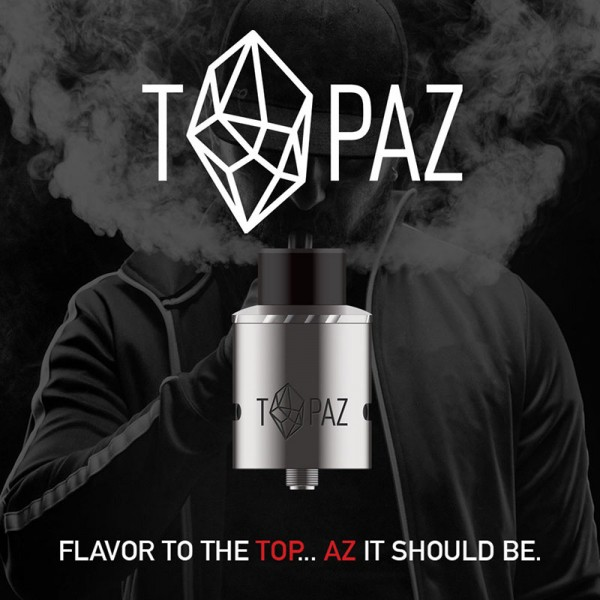 TOPAZ Rebuildable Dripping Atomizer Parts - eCig Hellas