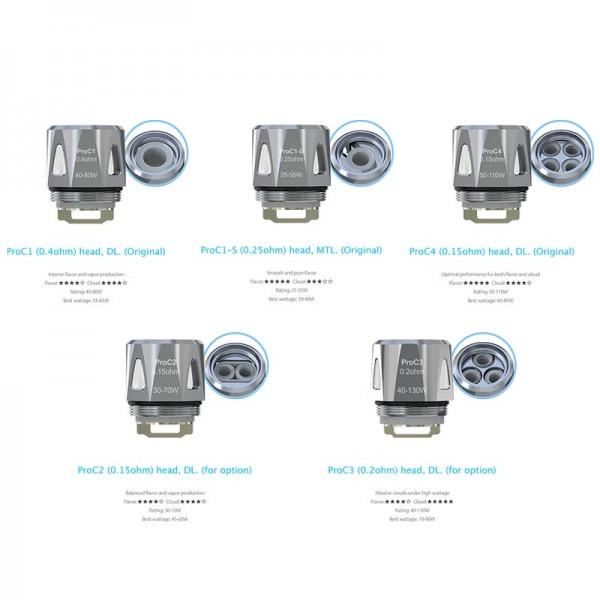 Non Repairable - eCig Zircon ProCore Atomizer Kit 2ml