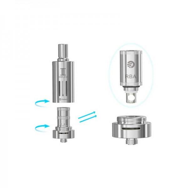 Coil Heads - Joyetech Delta 2 RBA Head Kit