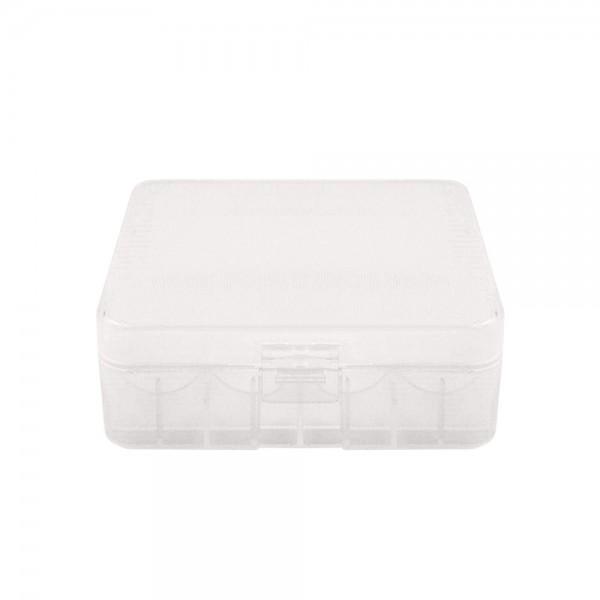 Cases - Transparent Plastic Case 2x26650