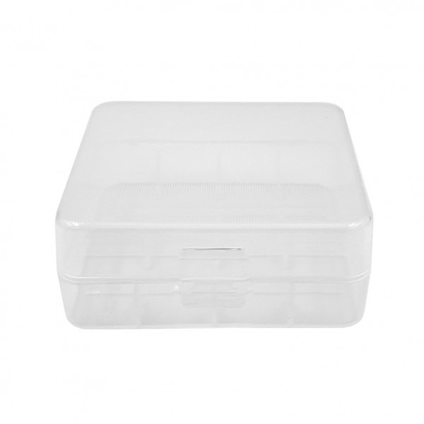 Cases - Transparent Plastic Case 2x26650