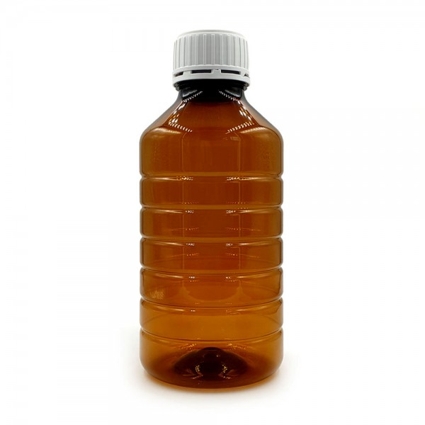Empty Bottles - PET Amber bottle 1000ml