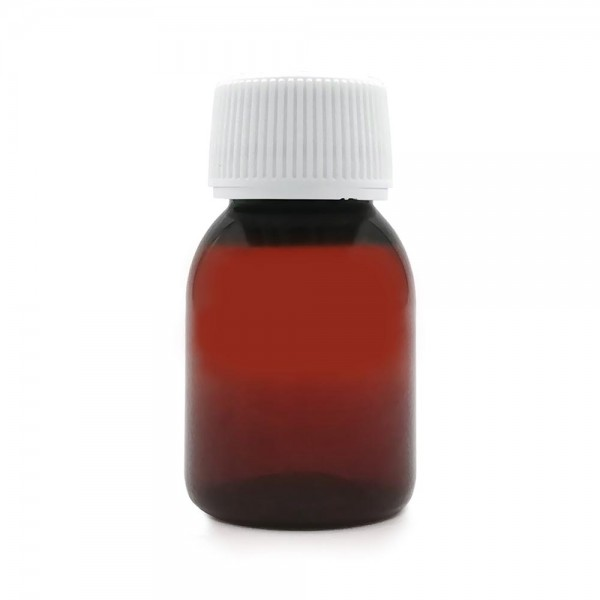 Empty Bottles - PET Amber Bottle 50ml