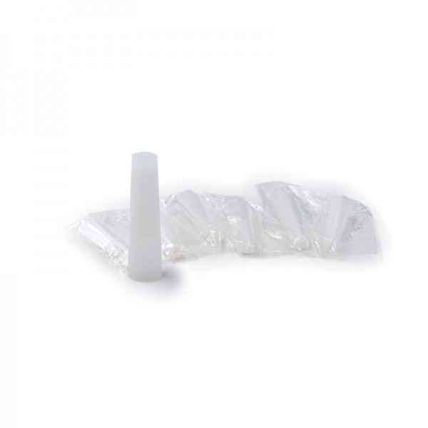 Φίλτρα & Drip Tips - Drip Tip Disposable Silicone White