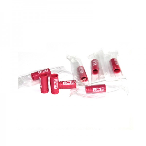 Drip Tip Disposable Silicone Red - eCig Hellas