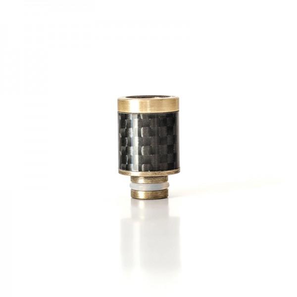 Drip Tip Carbon+SS 20mm
