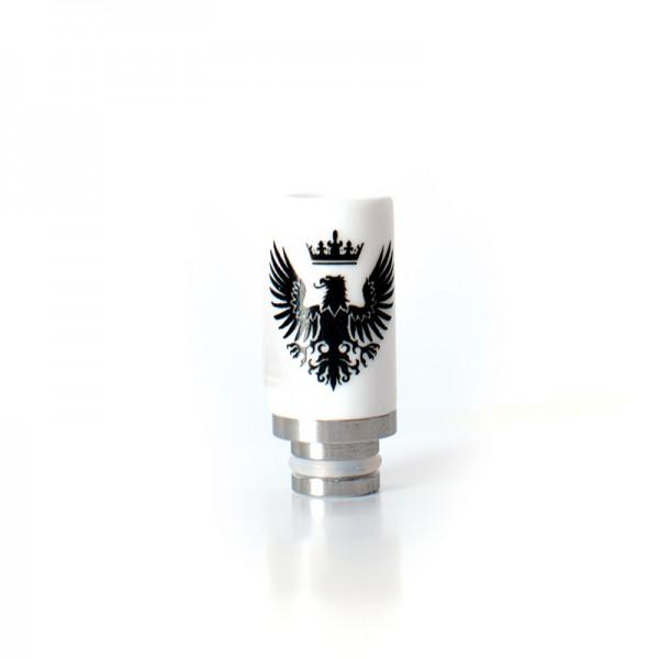 Filters & Drip Tips - Drip Tip Ceramic Eagle Flat