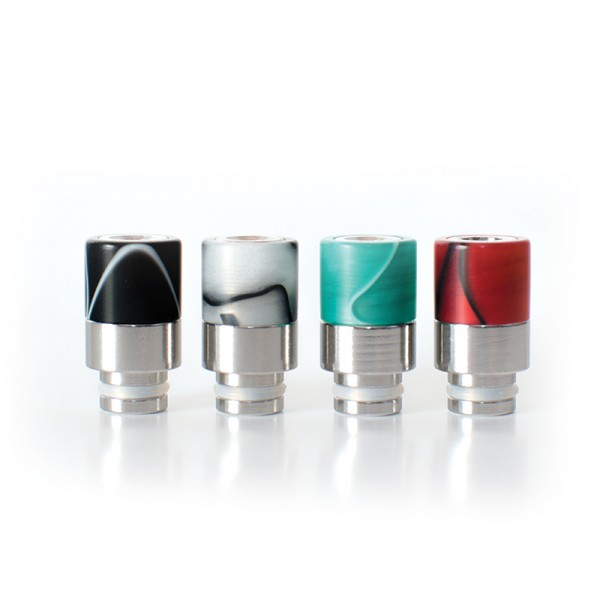 Drip Tip Glass+ss Waves