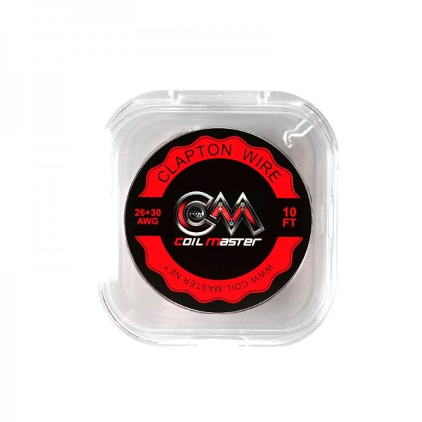 Wires & Cotton - CoilMaster K Clapton Wire 26+30 AWG 3m