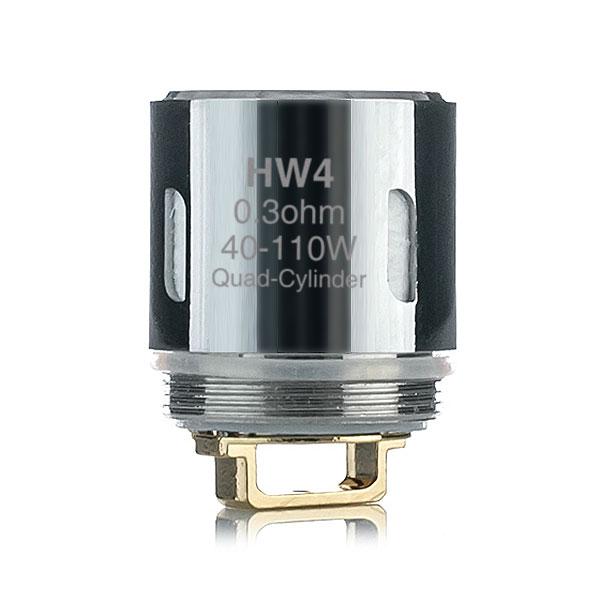 Coil Heads - Eleaf Hw4 Quad Cylinder 0.3ohm Coil
