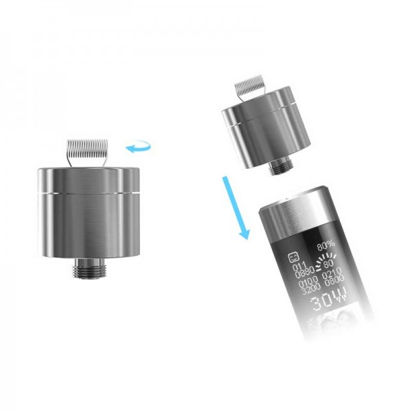 Atomizer Parts - Joyetech eGrip RBA 510 Adapter
