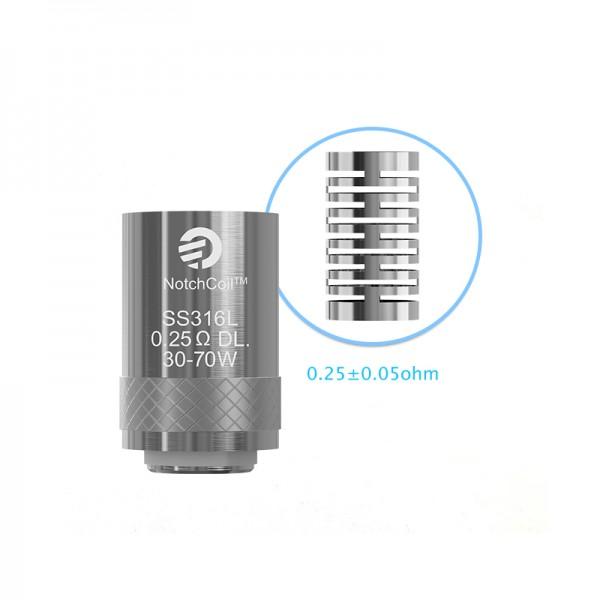 NotchCoil 0.25ohm DL Head
