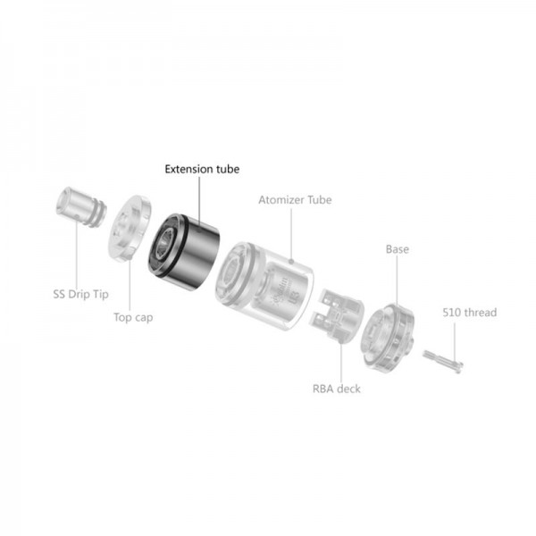 UD Goblin mini V3 Extension SS tube - Youde Technology