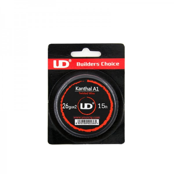 Atomizer Parts - UD Kanthal Twisted Wire 26ga Χ 2