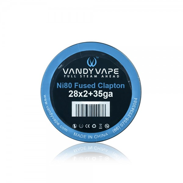 Vandy Vape Fused Clapton Wire Ni80 28x2+...