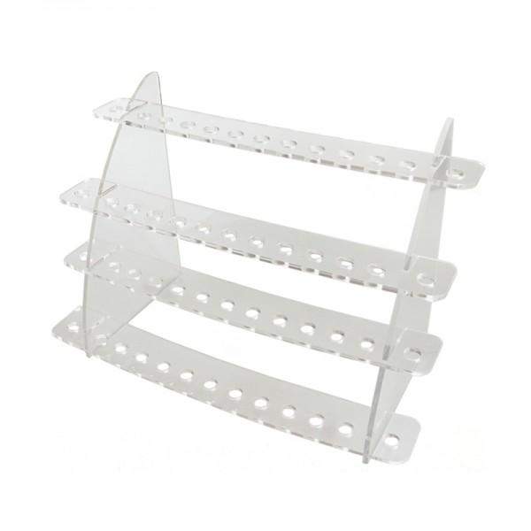 Προθήκες / Βολτόμετρα - eCig Plexi Glass Drip Tip Stand