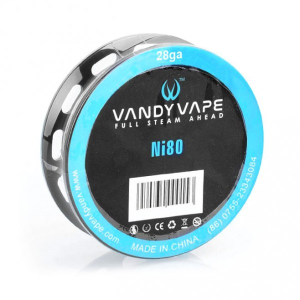 Wires & Cotton - Vandy Vape Ni80 28ga 10m